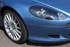 sportar för främre billykta för bil moderna Royaltyfria Bilder