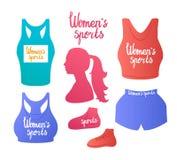 Sportar för kvinna` s Fotografering för Bildbyråer