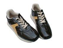 sportar för tillfälliga skor Arkivbilder