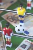 Sportar och pengar arkivbilder