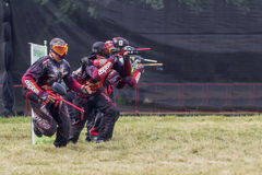sportar Paintball Arkivfoton