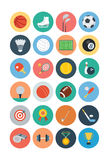 Sportar sänker symboler - Vol 1 Arkivfoto