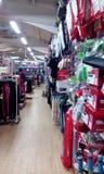 Sportar shoppar Arkivbild