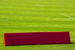 Sportar som annonserar det tomma banret Royaltyfri Fotografi