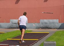 Sportar spelar städer Royaltyfri Foto