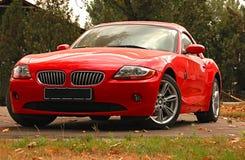 sportar z4 för bmw-bilbegrepp fotografering för bildbyråer