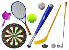 Sportausrüstungsvektor Lizenzfreie Stockfotografie