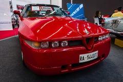 Sportauto Alfa Romeo SZ Sprint Zagato, 1991 Lizenzfreie Stockbilder