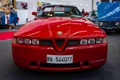 Sportauto Alfa Romeo SZ Sprint Zagato, 1991 Lizenzfreie Stockfotografie