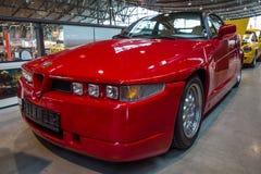 Sportauto Alfa Romeo SZ Sprint Zagato oder ES-30, 1991 Stockbilder