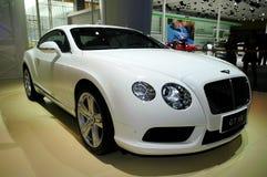 Sportauto Bentley Continentals GT V8 Stockfotos