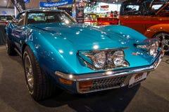 Sportauto Chevrolet Corvette Stechrochen C3, 1972 Lizenzfreie Stockfotos
