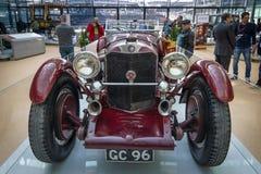 Sportauto Mercedes-Benz SSK, 1929 Lizenzfreies Stockbild