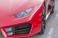 Sportautodetail Lizenzfreies Stockfoto