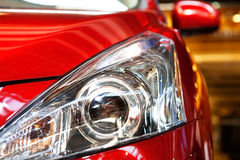Sportautodetail stockfotos