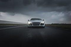 Sportautohetzen lizenzfreie stockfotos