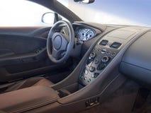 Sportautoinnenraum Lizenzfreie Stockfotos