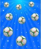 Sportbakgrund Arkivfoto