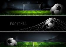 Sportbaner vektor Royaltyfri Bild