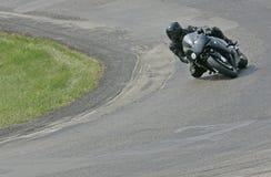 Sportbike de Corning Imagens de Stock