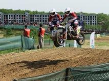 Sportbike enduro sidecar motocross wiecu bie?na rywalizacja obrazy stock