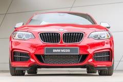 Sportbil för huvudström för turboladdare för serie för BMW M235i kupékapacitet Fotografering för Bildbyråer