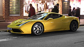 Sportbil Ferrari Arkivfoton