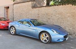 Sportbil Ferrari Kalifornien Arkivbild