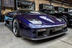 Sportbil Lamborghini Diablo GT, 2001 Fotografering för Bildbyråer