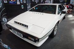 Sportbil Lotus Esprit S1, 1977 Royaltyfri Bild