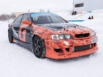 Sportbilar för att driva för konkurrens Royaltyfri Foto