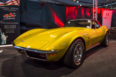 SportbilChevrolet Corvette stingrocka C3 Arkivfoton