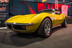 SportbilChevrolet Corvette stingrocka C3 Arkivbilder
