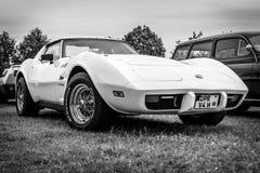 SportbilChevrolet Corvette stingrocka Kupé, 1976 Arkivbilder
