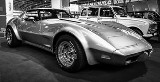 SportbilChevrolet Corvette stingrocka Targa, 1977 Royaltyfria Bilder