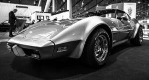 SportbilChevrolet Corvette stingrocka Targa, 1977 Arkivfoto