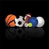 Sportbollar Arkivbild