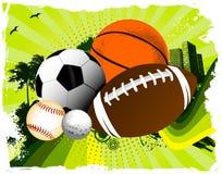 Sportbollar Royaltyfri Bild