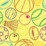 Sportbollmodell - #2 royaltyfri illustrationer