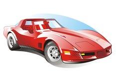 Sportcar Lizenzfreies Stockfoto