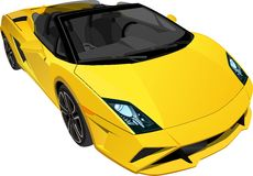 Sportcar 1 royalty illustrazione gratis