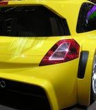 Sportcar em detalhe imagem de stock royalty free