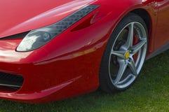Sportcar italia royaltyfri foto