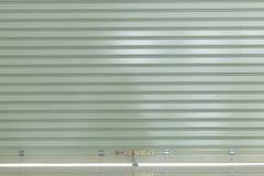 Sportello d'acciaio di alluminio del rullo del metallo Fotografia Stock