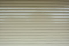 Sportello d'acciaio di alluminio del rullo del metallo Immagini Stock