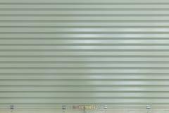 Sportello d'acciaio di alluminio del rullo del metallo Fotografie Stock