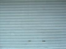 Sportello d'acciaio di alluminio del rullo del metallo Fotografie Stock Libere da Diritti