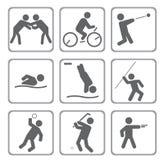 Sporten Royalty-vrije Stock Afbeeldingen