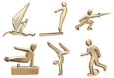 Sporten vector illustratie