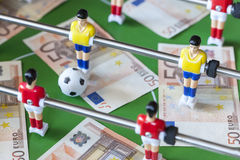 Sporten en geld royalty-vrije stock afbeelding